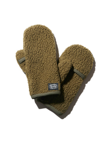 Thermal Boa Fleece Mittens