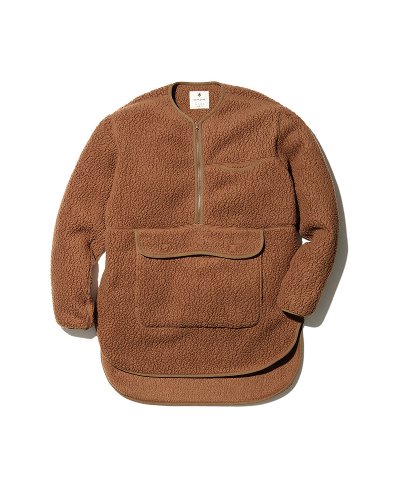 Thermal Boa Fleece Pullover