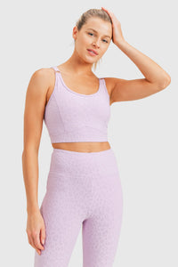 Serengeti Sports Bra- Lavender