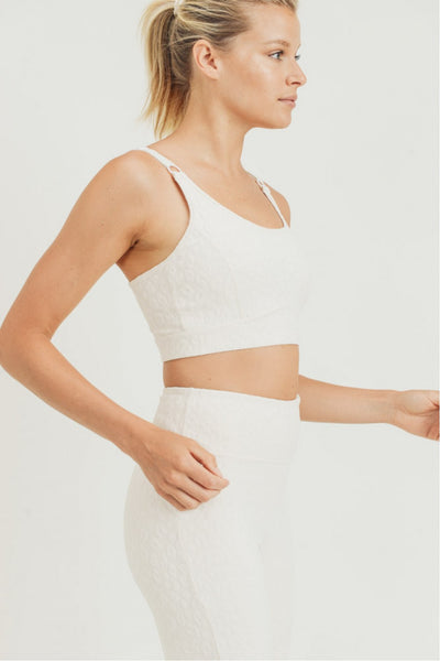 Serengeti Sports Bra-Natural