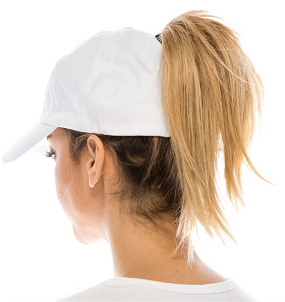 High Ponytail Baseball Hat