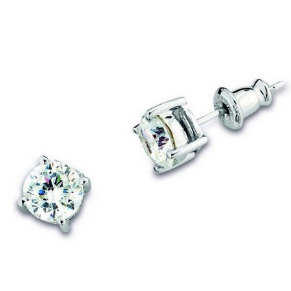 ELLE Cubic Zirconia Stud Earrings