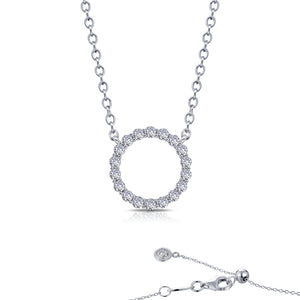 Lafonn 1.15cttw Open Circle Necklace