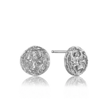 Load image into Gallery viewer, Silver Boreas Stud Earrings