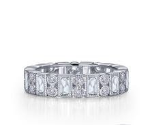 Load image into Gallery viewer, Lafonn Emerald Cut Eternity Band