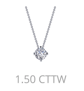 Lafonn 1.50ct Solitaire Necklace