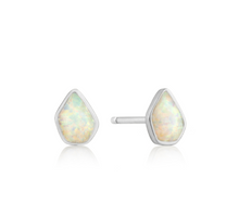 Load image into Gallery viewer, Opal Color Stud Earrings