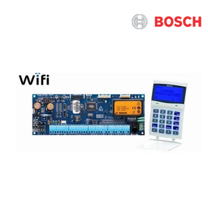 Solution 6000, PCB (CC600PB) + WiFi Key pad (CP741B) LCD, 144 zone, White, Suits Solution 6000 panel,