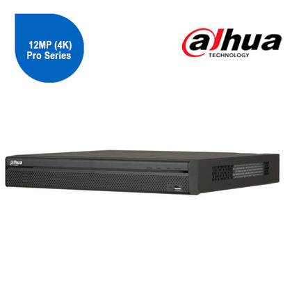 Dahua NVR5208-8P-4KS2 8 Channel Network Video Recorder: 12MP (4K) Pro Series