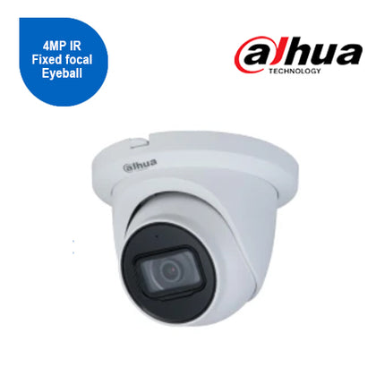 4MP IR Fixed focal Eyeball WizSense Network Camera 2.8mm