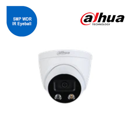 5MP WDR IR Eyeball WizMind Network Camera 2.8mm