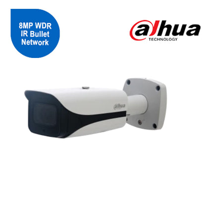 8MP WDR IR Bullet Network Camera 7-35mm zoom lens