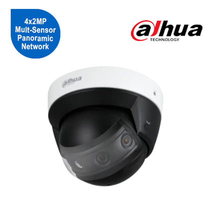 4x2MP Multi-Sensor Panoramic Network IR Dome Camera