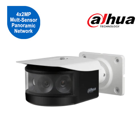 4x2MP Mult-Sensor Panoramic Network IR Bullet Camera