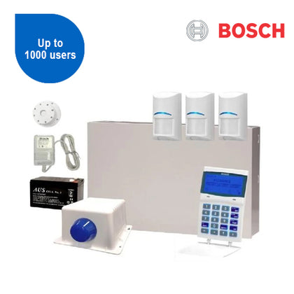Solution 6000 Kit with GFX Keypad & 3x TriTech PIRs & Accessories