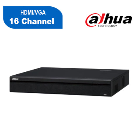 Dahua NVR4216-16P-4KS2 16 Channel Network Video Recorder: 8MP (4K)