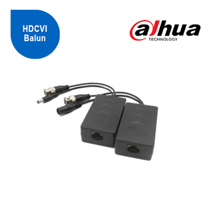 1 Channel Passive HDCVI Balun with Power RJ45 (Pair)