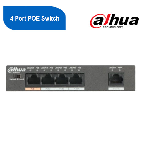 4 Port POE Switch (unmanaged)