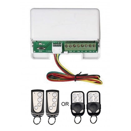 Remote control kit, including 1 receiver and 2 remotes RTI01