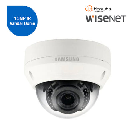 Wisenet WN Lite 1.3MP IR Vandal Dome