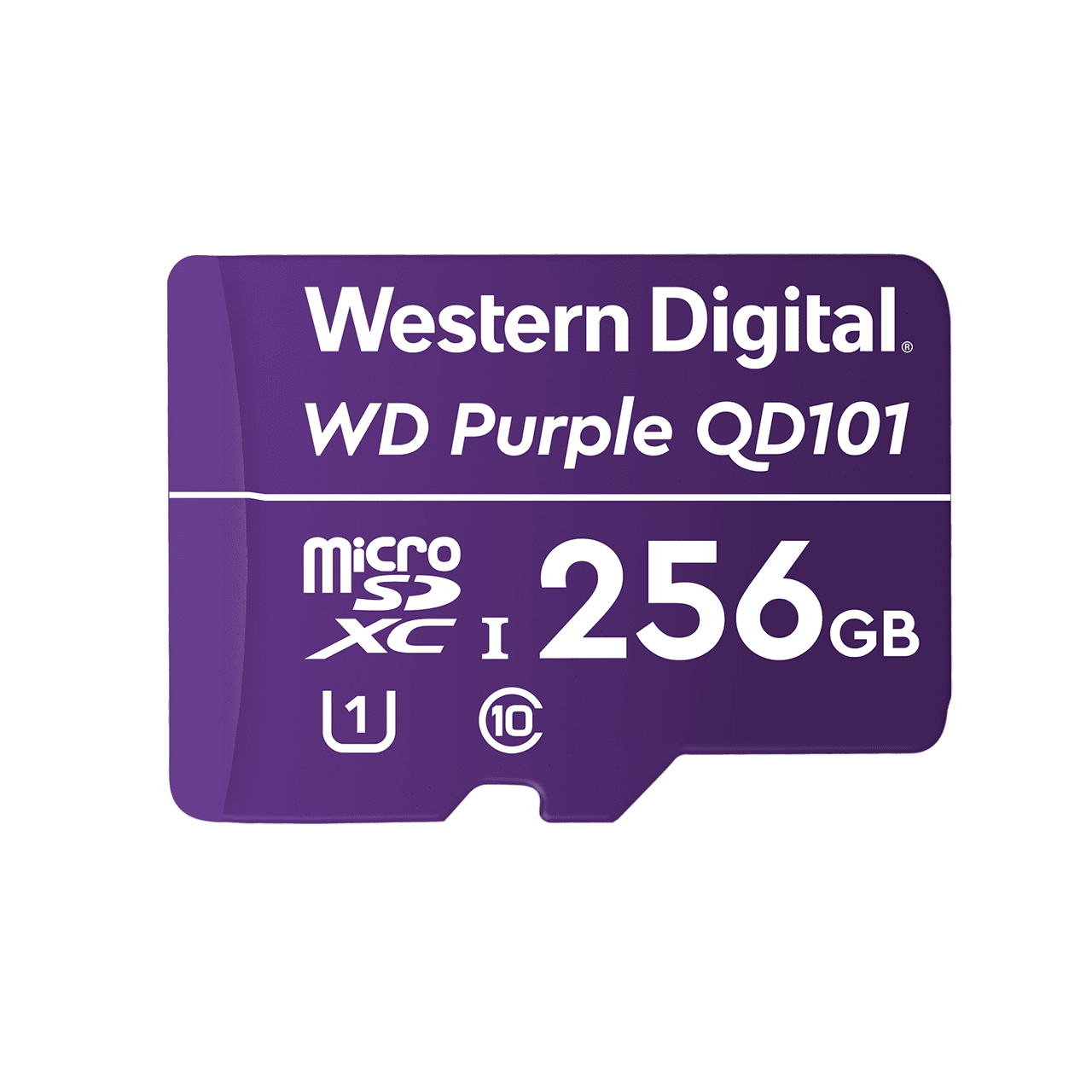 Western Digital 256GB mSD card
