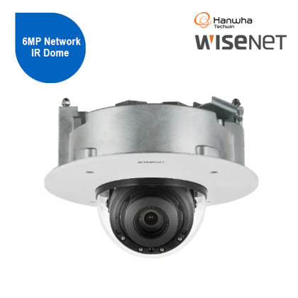 Wisenet X-series 6MP Network IR Dome Camera