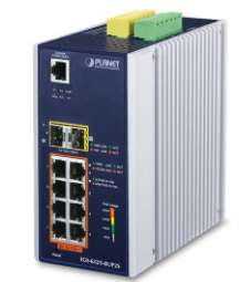 Industrial L3 8-Port 10/100/1000T 802.3bt PoE + 2-Port 100/1000X SFP + Managed Ethernet Switch