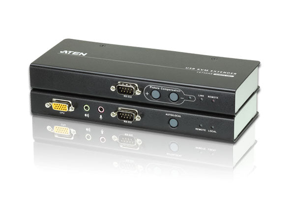Aten USB KVM Console Extender with RS 232