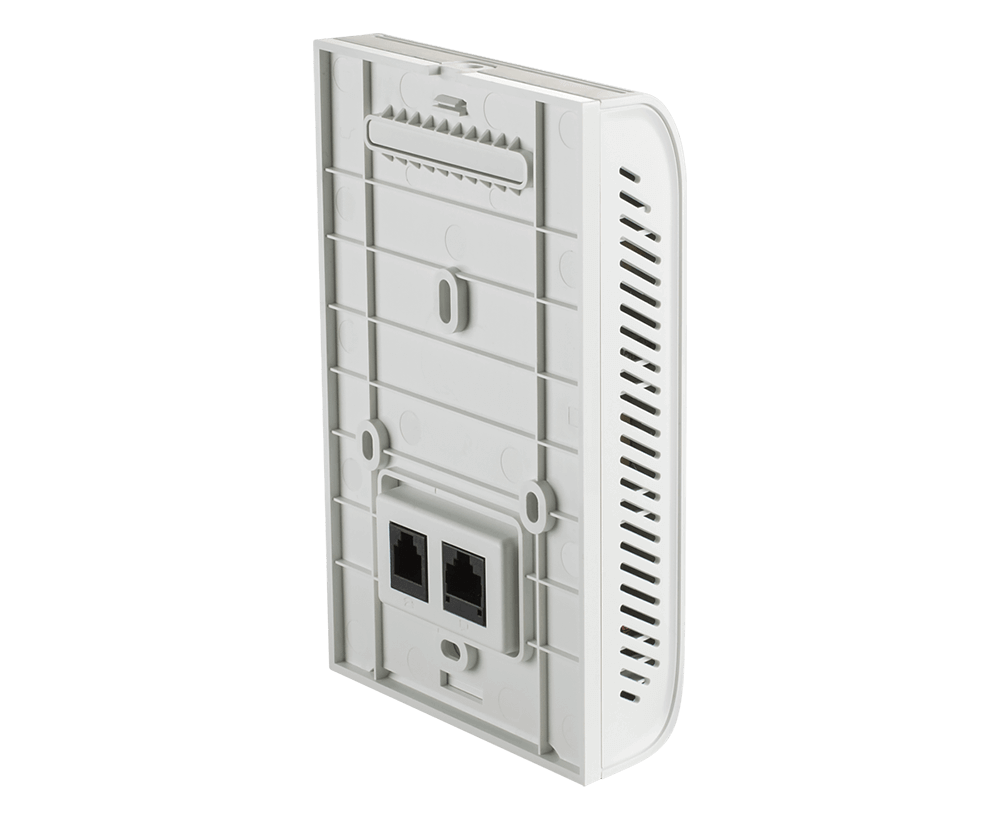 Wireless AC1200 Wave 2 Concurrent Dual Band Wall-Plate PoE Access Point