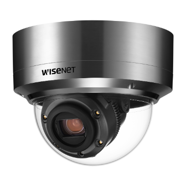 Wisenet X-series 2M 12X IR Stailess outdoor Dome