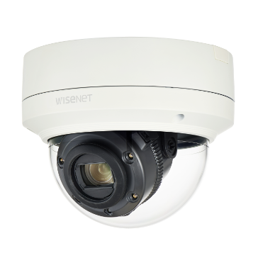 Wisenet X-series 2M 12X IR outdoor Dome