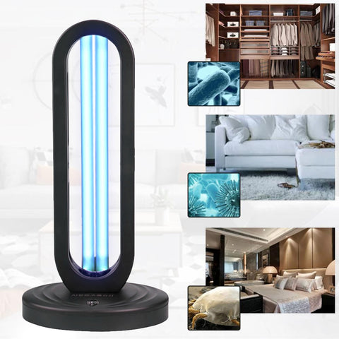 UVC Lamp can be used in your house to sterilize your rooms
