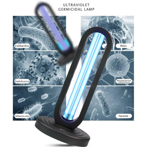 UVC light kills viruses, bacteria, mold and pathogens