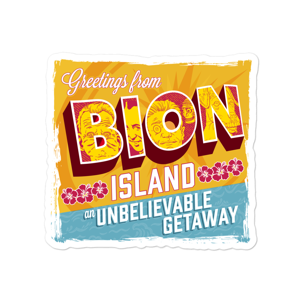 BION Island Sticker