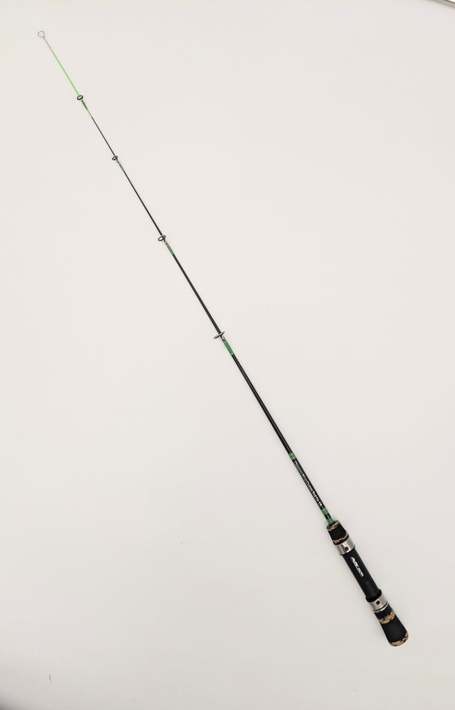Prebuilt Fiberglass Ice Fishing Rod 26""