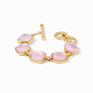 Julie Vos Catalina Bracelet (Iridescent Rose)