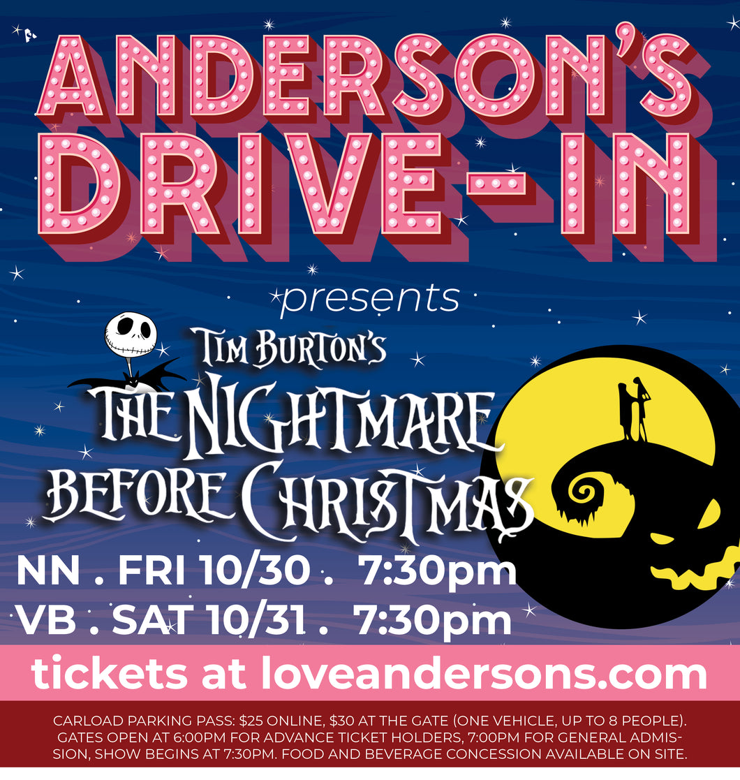 The Nightmare Before Christmas  .  10/31/20  .  Virginia Beach