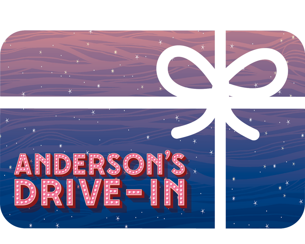 Drive-In Movie Gift Card