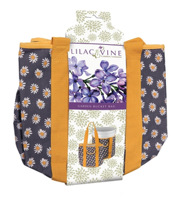 Lilac & Vine Daisy Garden Bucket Bag Outdoor Garden Holder