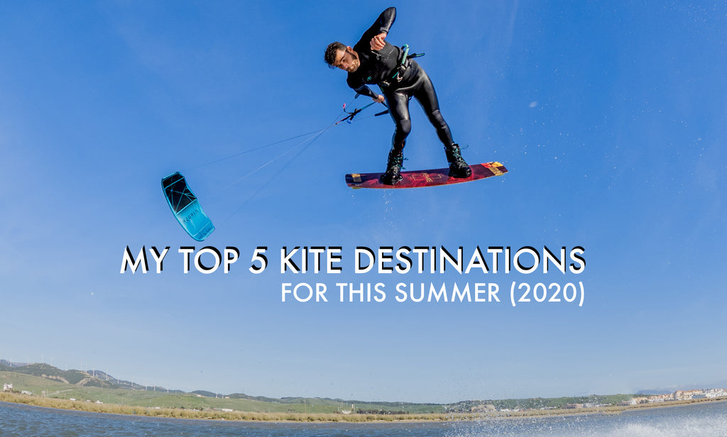 Where to kite this summer? My Top 5 ideas within Europe 2020