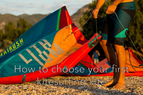 How to choose your kitesurfing kite - Alex Pastor Kite Club