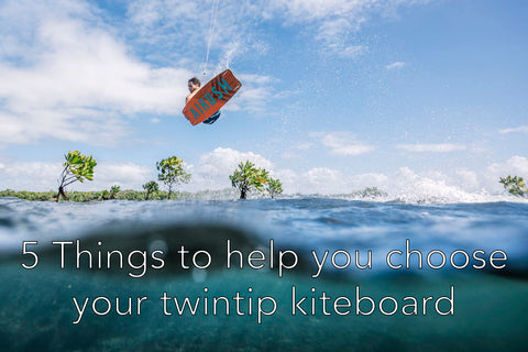How to choose your twintip kiteboard - Size Chart - Alex Pastor Kite Club