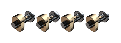 Airush / AK Foil - Foil to Board Mounting US Box bolt set (4 pcs)