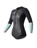 2018 Ride Engine WMS Almar Shorty Long Sleeve Bikini Front Zip