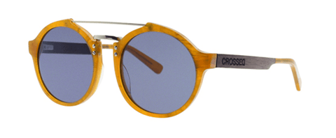 Alex Pastor Kite Club - Airush Kite Shop Tarifa sunglasses Crossed Osiris 03 - Caramel/Black