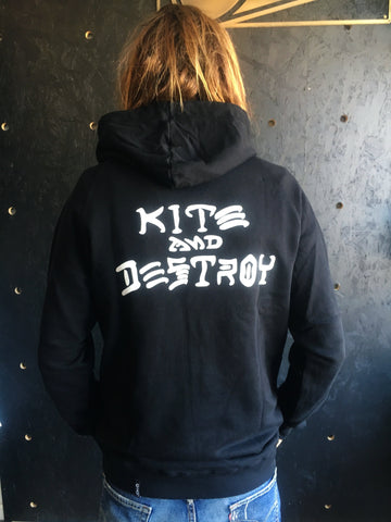 Alex Pastor Kite Club - Airush Destination Store and Kiteschool LION Kite & Destroy Hoodie