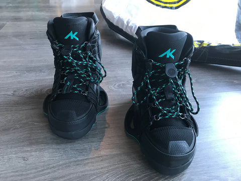 Used AK Team Black Bindings (US9 EU42 UK8)