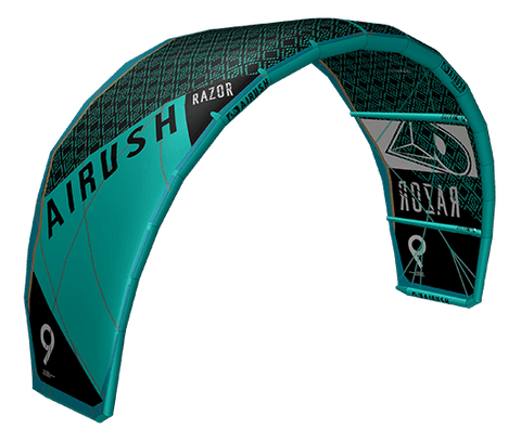 2018 Airush Razor Kite Team Black - Alex Pastor Kite Club - Airush Kite Shop
