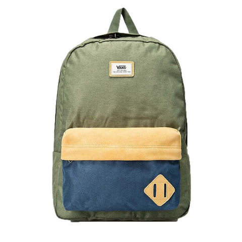 Alex Pastor Kite Club - Airush Store and Kiteschool bags Vans Old Skool II Backpack Green