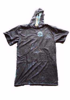 Alex Pastor Kite Club - Airush Store and Kiteschool Baby / Black Marble WKL Poncho